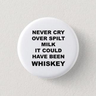 Bóton Redondo 2.54cm Botão engraçado das citações do álcool