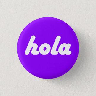 Bóton Redondo 2.54cm Botão espanhol - Hola