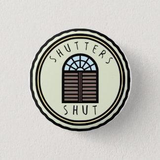 Bóton Redondo 2.54cm Botão fechado obturadores