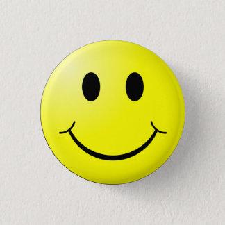 Bóton Redondo 2.54cm Botão feliz do smiley face