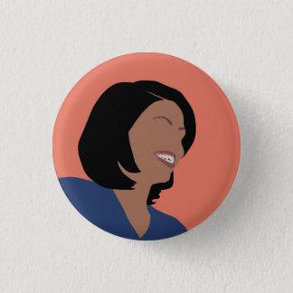 Bóton Redondo 2.54cm Botão feminista do Pin de Michelle Obama
