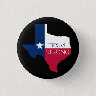 Bóton Redondo 2.54cm Botão forte da bandeira do estado de Harvey Texas
