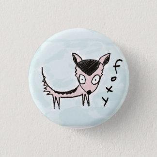 Bóton Redondo 2.54cm botão foxy