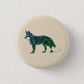 Bóton Redondo 2.54cm Botão Foxy geométrico dos animais | Feelin da