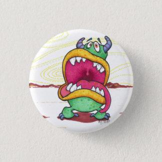 Bóton Redondo 2.54cm Botão grande do monstro da boca
