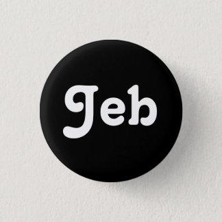 Bóton Redondo 2.54cm Botão Jeb