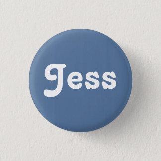 Bóton Redondo 2.54cm Botão Jess