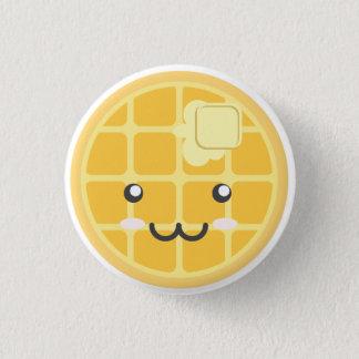 Bóton Redondo 2.54cm Botão liso do Waffle