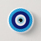 Bóton Redondo 2.54cm Botão-mau-olho