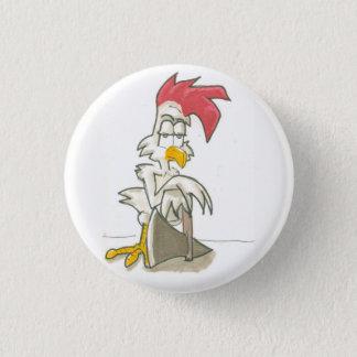 Bóton Redondo 2.54cm Botão mortal da galinha