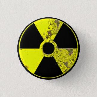 Bóton Redondo 2.54cm Botão nuclear