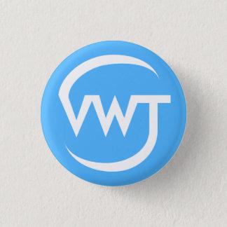 Bóton Redondo 2.54cm Botão pequeno do logotipo de VWT