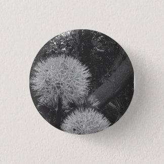 Bóton Redondo 2.54cm Botão preto & branco
