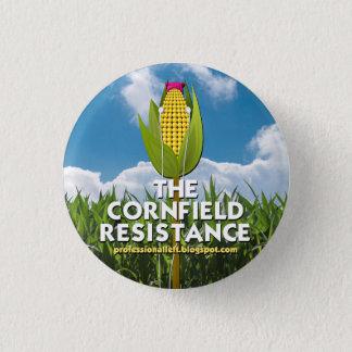 Bóton Redondo 2.54cm Botão redondo - a resistência do campo de milho