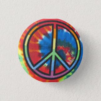 Bóton Redondo 2.54cm Botão redondo da paz da tintura do laço