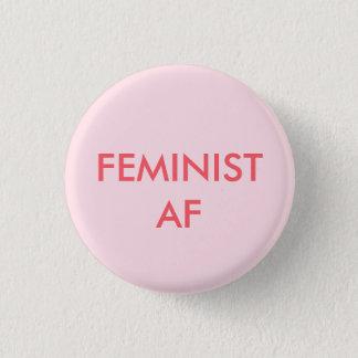 Bóton Redondo 2.54cm botão redondo do poder feminista da menina