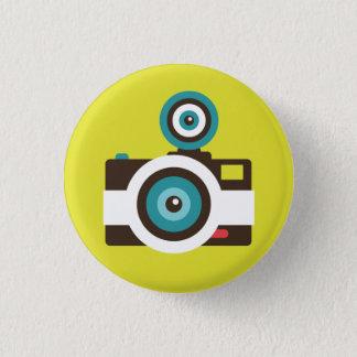 Bóton Redondo 2.54cm Botão retro do dom da câmera imediata