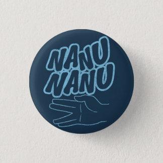 Bóton Redondo 2.54cm Botão retro do dom de Nanu Nanu
