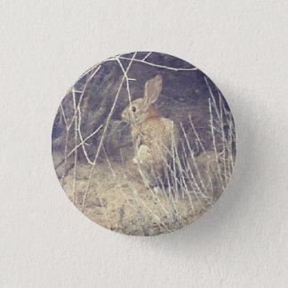 Bóton Redondo 2.54cm Botão selvagem do coelho