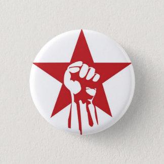 Bóton Redondo 2.54cm Botão socialista do punho