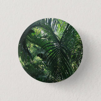 Bóton Redondo 2.54cm Botão verde da palmeira