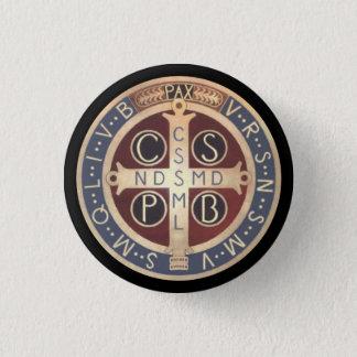 Bóton Redondo 2.54cm Botões da medalha do St. Benedict, todos os