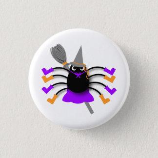 Bóton Redondo 2.54cm Bruxa da aranha