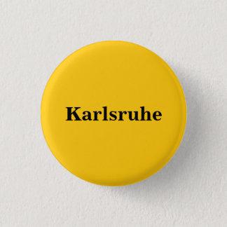 Bóton Redondo 2.54cm Button de Karlsruhe Gold Gleb