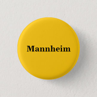 Bóton Redondo 2.54cm Button de Mannheim Gold Gleb