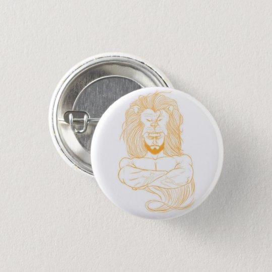 Bóton Redondo 2.54cm Button Hércules