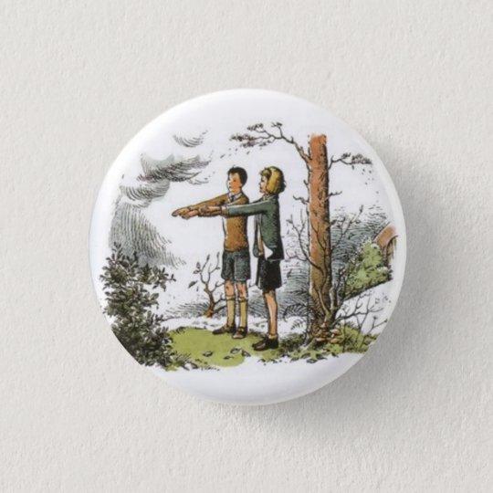 Bóton Redondo 2.54cm Button (Nárnia) Eustáquio e Jill.