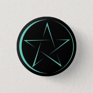 Bóton Redondo 2.54cm Button Pentagrama