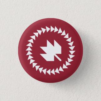 Bóton Redondo 2.54cm Canadenses no botão de QuiltCon