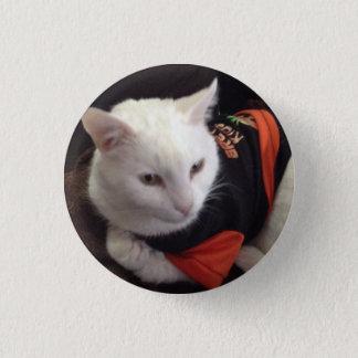 Bóton Redondo 2.54cm Casper o gato branco apenas que refrigera