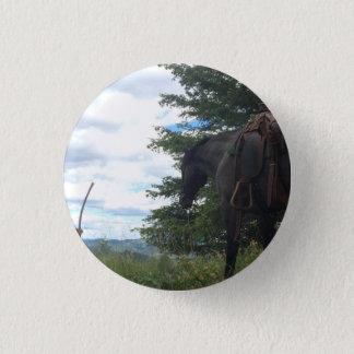 Bóton Redondo 2.54cm Cavalo que pasta o botão