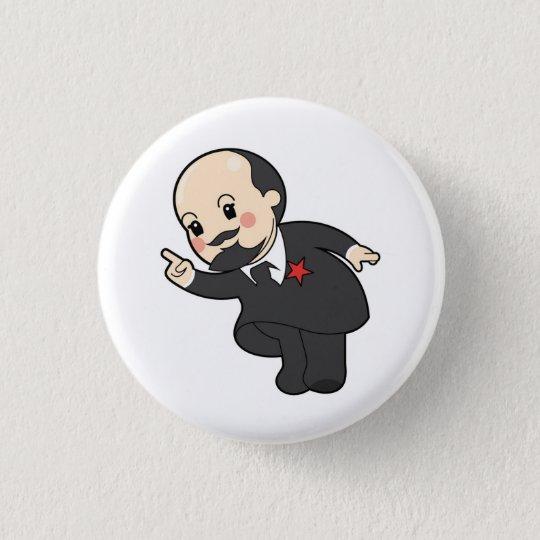 Bóton Redondo 2.54cm Chibi Vladimir Ilyich Lenin