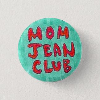 Bóton Redondo 2.54cm Clube de Jean da mamã