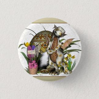 Bóton Redondo 2.54cm Crachá/botão do dragão do bebê da páscoa