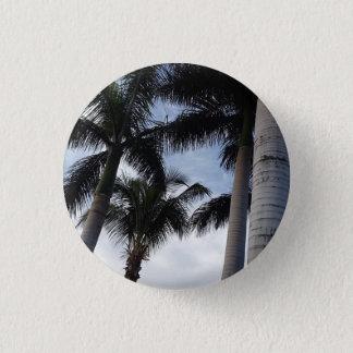 Bóton Redondo 2.54cm Crachá do botão das palmeiras de Tenerife