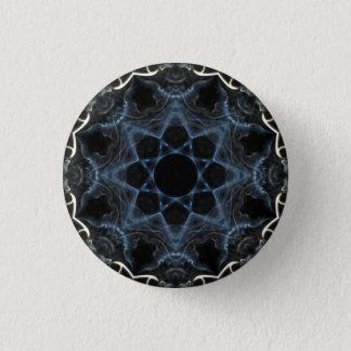 Bóton Redondo 2.54cm Crachá do caleidoscópio da flor do fumo
