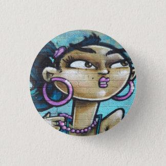 Bóton Redondo 2.54cm Crachá do Pin da arte dos grafites