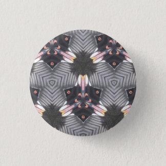 Bóton Redondo 2.54cm Crachá geométrico do teste padrão da asa da
