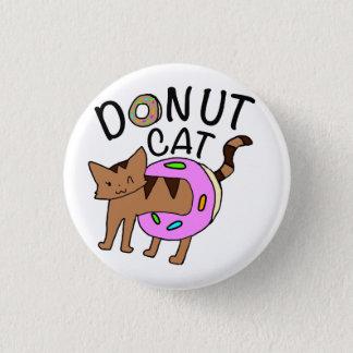 """Bóton Redondo 2.54cm Da """"botão do gato rosquinha"""""""