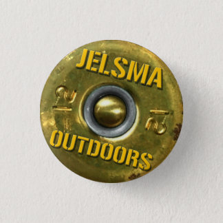 Bóton Redondo 2.54cm De Jelsma botão oficial fora Headstamp pequeno