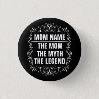 Bóton Redondo 2.54cm Dia das mães feliz da mamã
