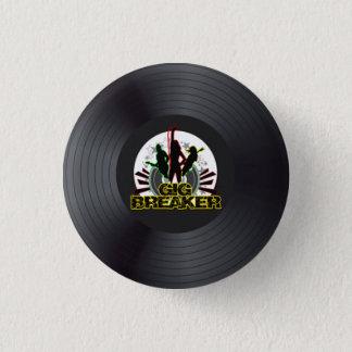 """Bóton Redondo 2.54cm Disjuntor da actuação - """"Pin do logotipo gravado"""""""