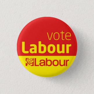 Bóton Redondo 2.54cm Eleição geral do crachá do botão do Partido