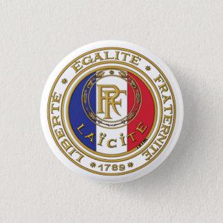 Bóton Redondo 2.54cm emblema laico francês