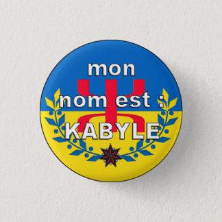 Bóton Redondo 2.54cm emblema NOME KABYLE