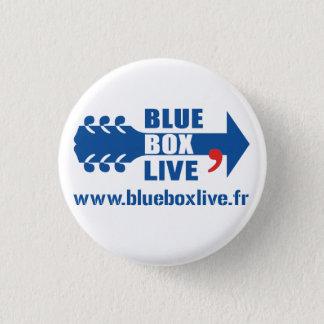 Bóton Redondo 2.54cm Emblema Redondo Blue Garagem privada Live